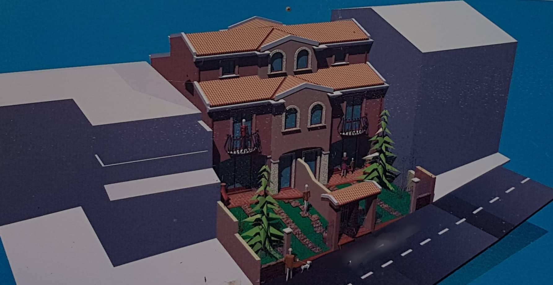 Villetta a schiera di nuova costruzione a Villaputzu